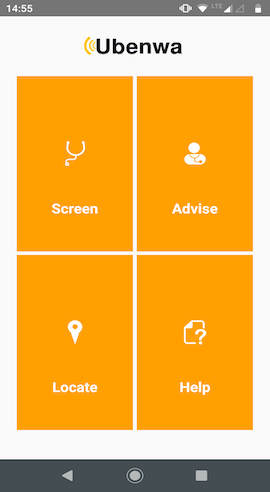 Ubenwa App screenshots